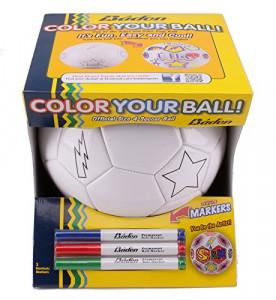 Ballon à colorier avec feutres