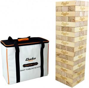 Baden Champions - Jeu de cubes Jenga géant